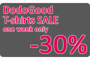 DodoGood t-shirts sale