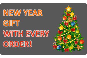 New Year gift with every order!