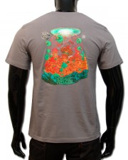 Organic Alchemy T-shirt, glow in dark & UV