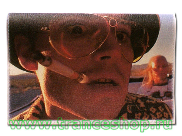 Fear and Loathing in Las Vegas Passport cover