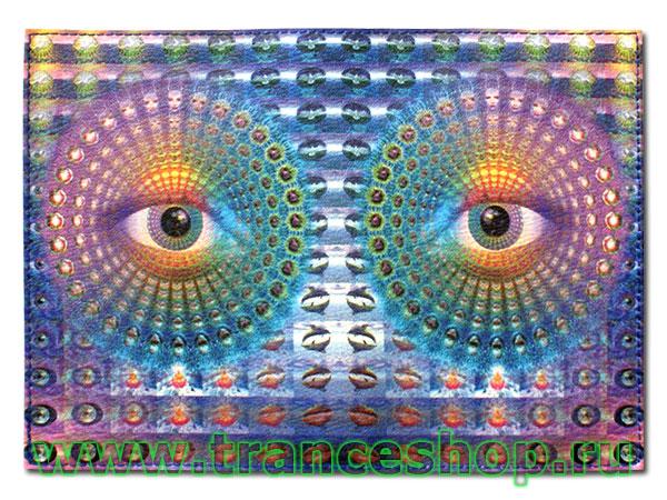 Обложка для паспорта «Глаз»