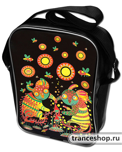 Dance on Mushrooms Vinyl bag