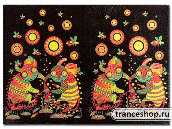 Обложка для паспорта «Танец вокруг грибов»