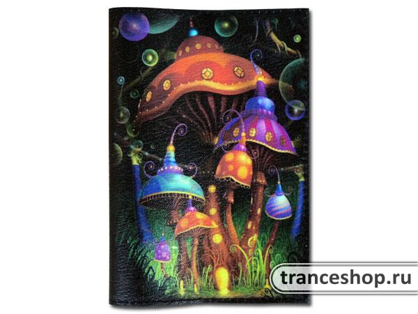 Обложка для паспорта «Волшебный сад»