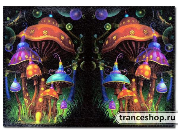 Обложка для паспорта Волшебный сад
