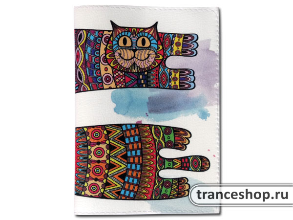 Flying Cats Passport cover