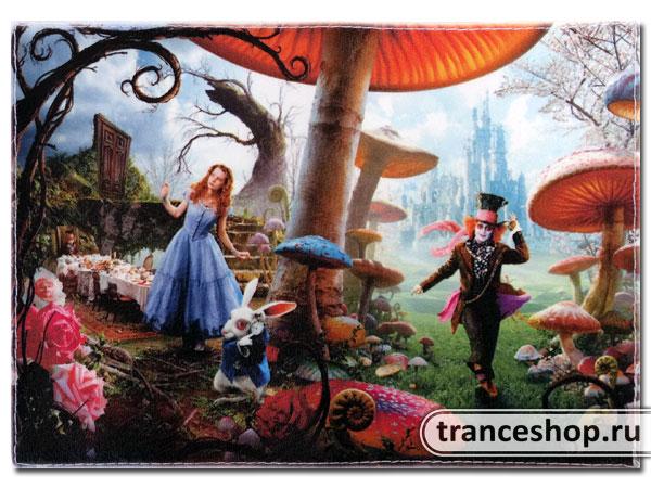 Wonderland Passport cover