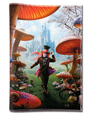 Wonderland Passport cover
