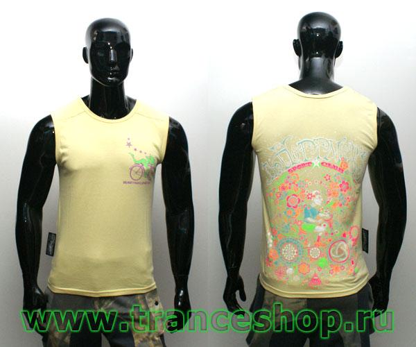 Dr. Hoffman Sleeveless shirt, glow in UV