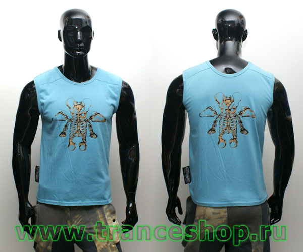 Skeleton Sleeveless shirt
