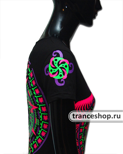 Tribe Rewards T-shirt, glow in UV