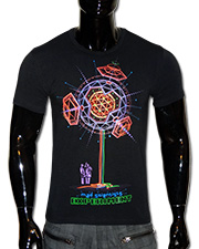 Experiment T-shirt, glow in UV