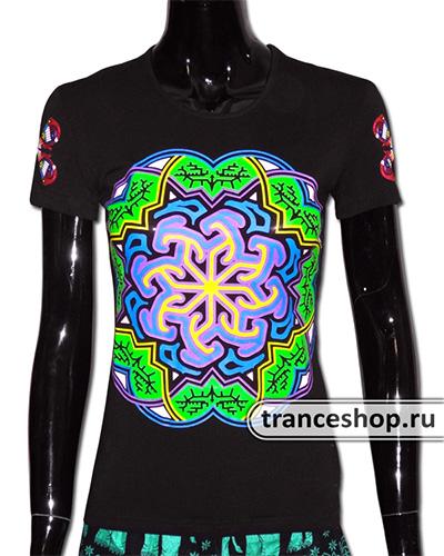 Labirint T-shirt, glow in UV