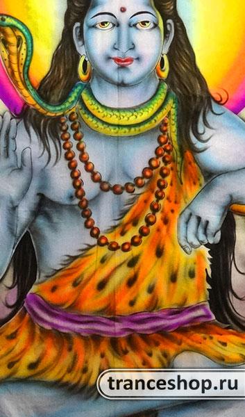 Флюро полотно «Shiva», светится в УФ