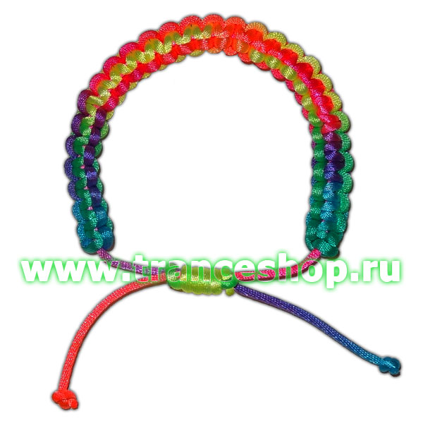 Club Bracelet, glow in UV