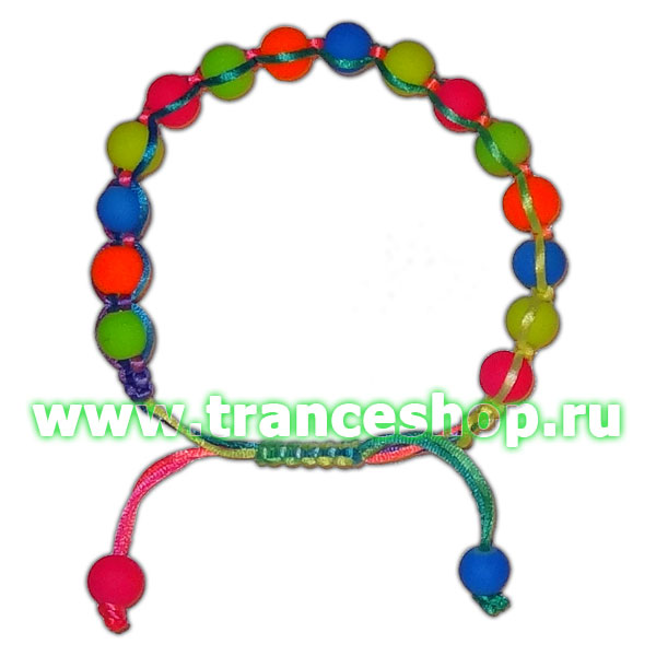Club Bracelet, glow in UV