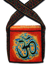 Om Embroideed bag