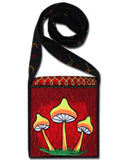 Mushrooms Embroideed bag