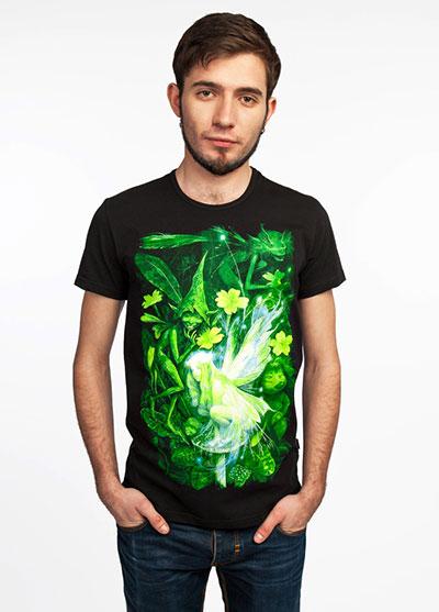 Elf T-shirt, glow in dark & UV