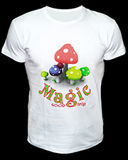 Magic Trip T-shirt, glow in UV