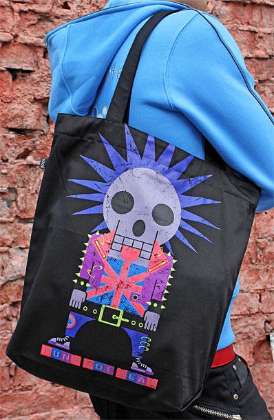 Punk Bag, glow in dark & UV