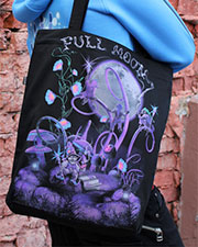 Full Moon Bag, glow in dark & UV