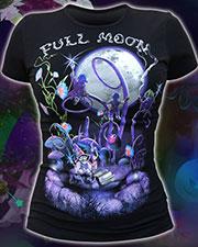 Футболка «Full Moon», светится в темноте и УФ