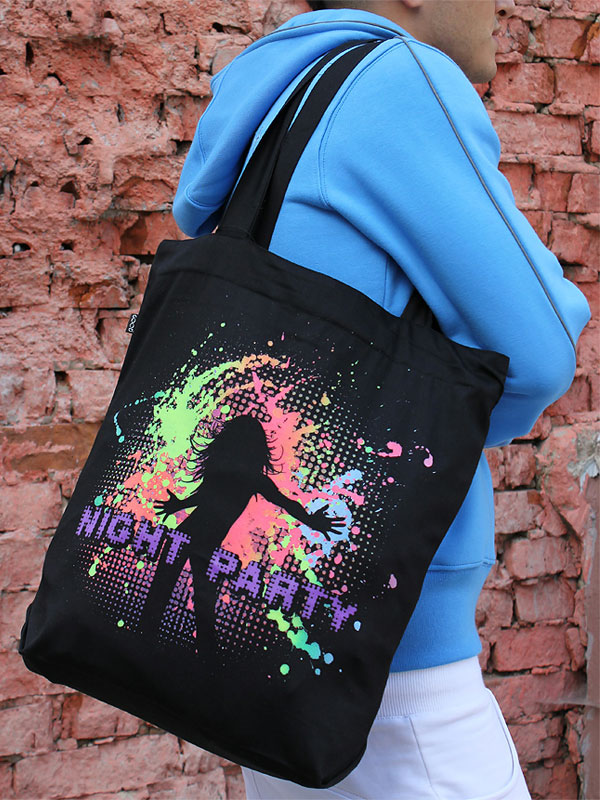 Night Party Bag, glow in dark & UV