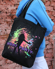 Night Party Bag, glow in dark & UV