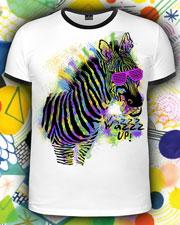 Zebra WazzzUP! T-shirt