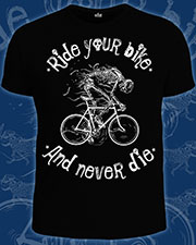 Футболка «Ride Your Bike»