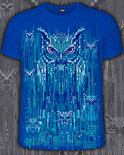 Owl-rockets T-shirt