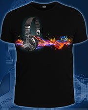 Waves of Sound T-shirt