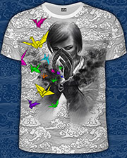 Mistery of Dreams T-shirt, glow in UV