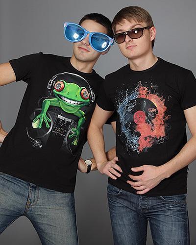 Crazy Frog T-shirt, glow in dark & UV