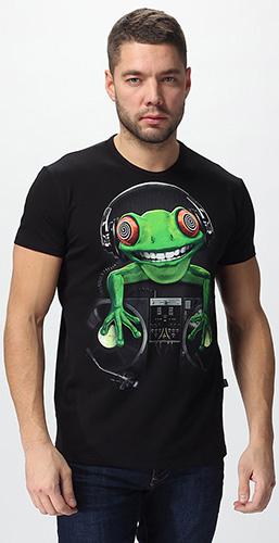 Футболка «Crazy Frog», светится в темноте и УФ