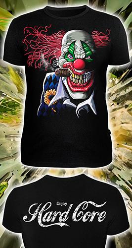 HardCore T-shirt, glow in dark & UV