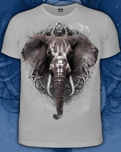 Футболка Слон, светится в темноте и УФ