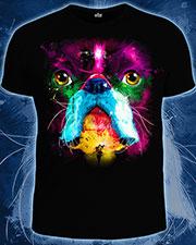 Футболка «Fluro Dog», светится в УФ