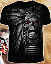 Warriors Skull T-shirt