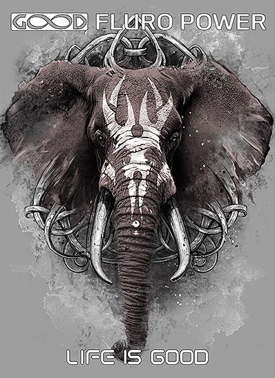 Полотно «Слон»