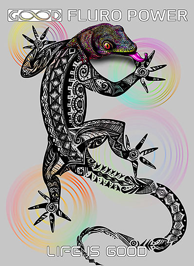 Lizard Canvas