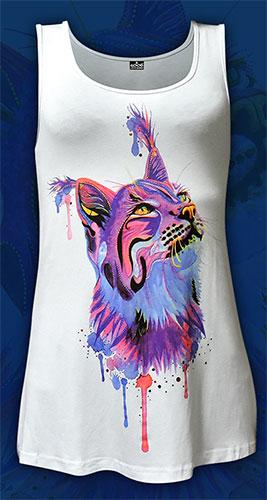Майка «Cats Tribe», светится в УФ