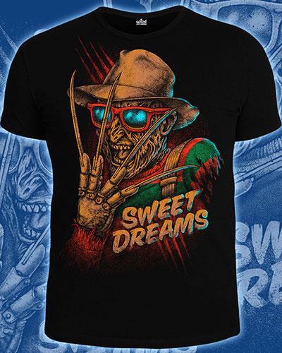 Футболка «Sweet Dreams», светится в УФ