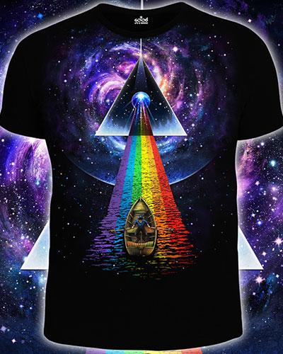 Stranger T-shirt, glow in dark & UV