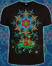 Space of Power T-shirt, glow in dark & UV