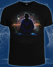 DJ at Work T-shirt, glow in dark & UV