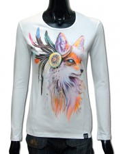 Fox Longsleeve, glow in UV