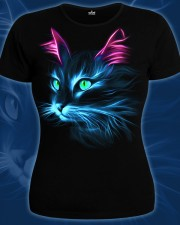 Cat T-shirt, glow in dark & UV
