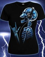 Футболка X-Skeleton, светится в темноте и УФ